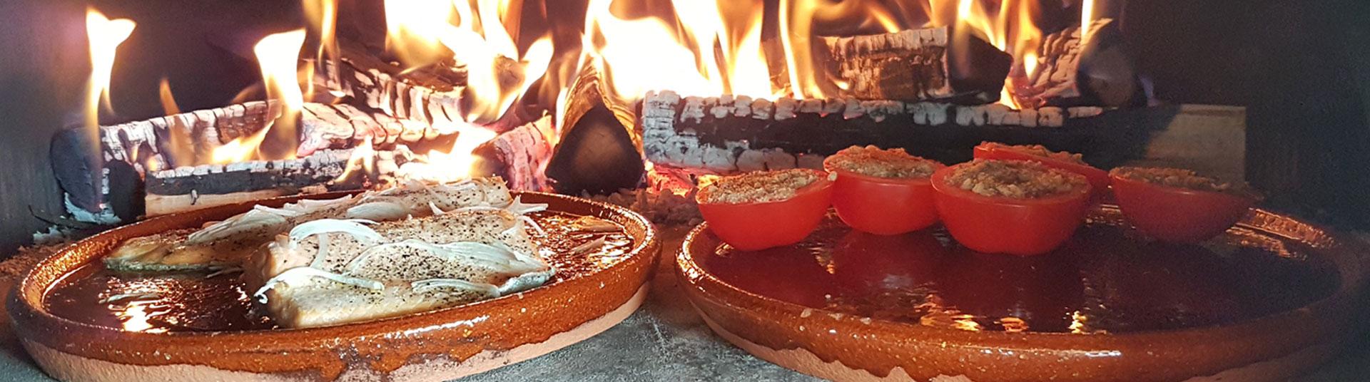 four à bois et four à pizza en fonte