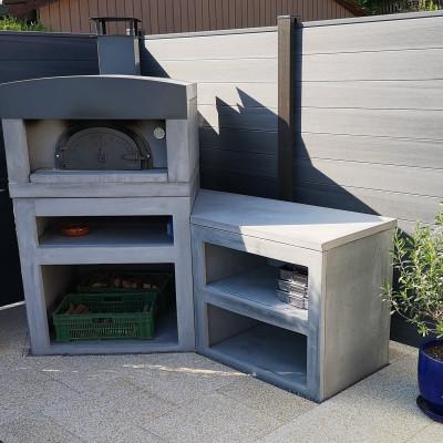 cuisine d'été moderne