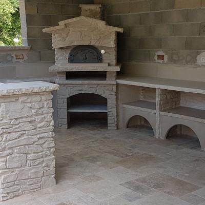 cuisine extérieur couverte