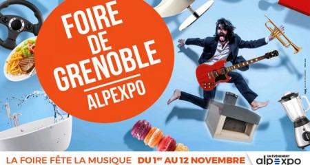 La foire de Grenoble fête la musique