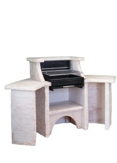 BARBECUE BELLEFOND ANGLE PAREVENT GRIL HORIZONTAL