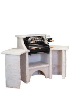 BELLEFOND D'ANGLE PAREVENT Ardoise, Veinage Bourgogne, Hotte Parevent Ardoise, Grill Mendy Acier 600 mm