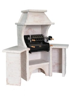 BELLEFOND D'ANGLE VERCORS Ardoise, Veinage Bourgogne, Hotte Vercors Ardoise, Grill Mendy Acier 600 mm