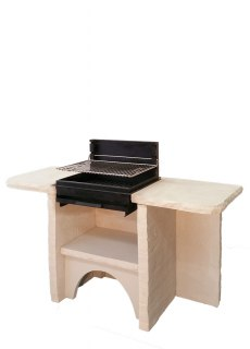 BARBECUE BELLEFOND 2 PLATEAUX GRIL HORIZONTAL