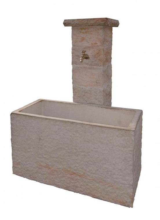 FONTAINE CASSANDRA 120 diamantée, Veinage Gris, Bac 120 x 60