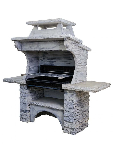 barbecue fixe ext rieur en pierre reconstitu e haut de gamme. Black Bedroom Furniture Sets. Home Design Ideas