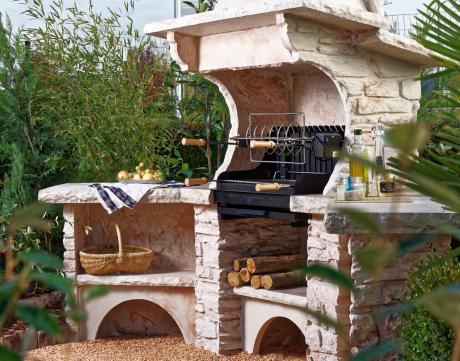 20 photos et idées de cuisine d'été en pierre reconstituée