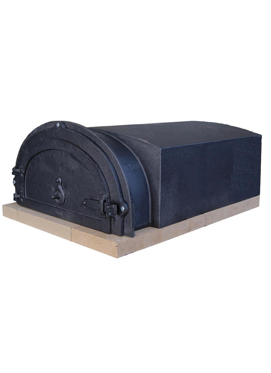 four à bois d'antan 6755 – four à pain, pizza en fonte en kit