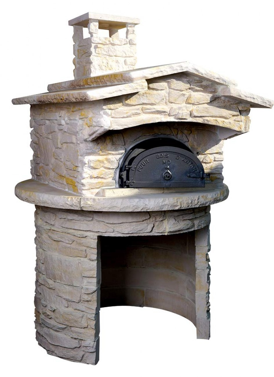 four pain four bois malissard nyls 8575 habillage pierre. Black Bedroom Furniture Sets. Home Design Ideas