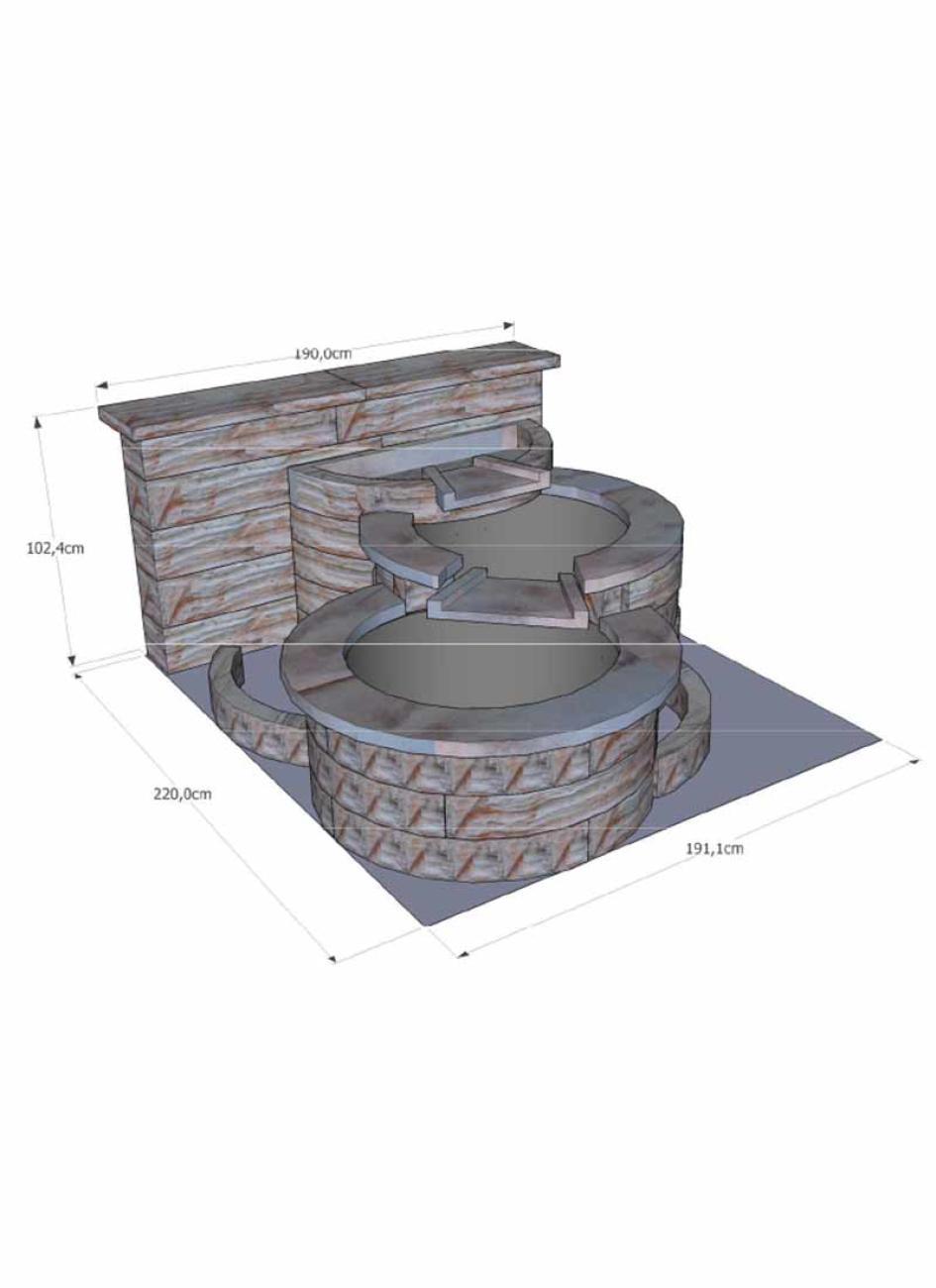 best fontaine de jardin niagara contemporary design trends 2017. Black Bedroom Furniture Sets. Home Design Ideas