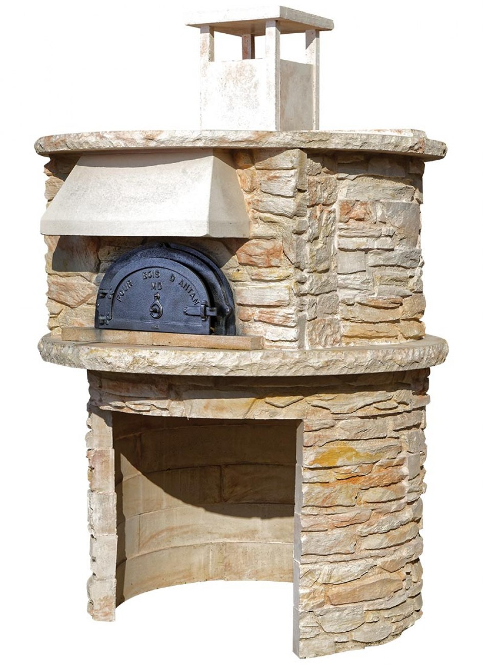 four pain four bois nyls 8575 habillage pierre. Black Bedroom Furniture Sets. Home Design Ideas