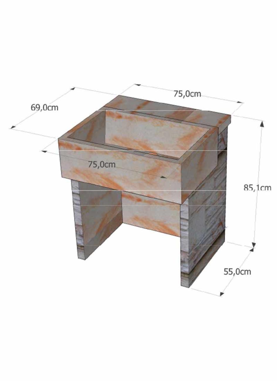 evier en pierre reconstitu e la pierre d antan pour cuisine d t. Black Bedroom Furniture Sets. Home Design Ideas